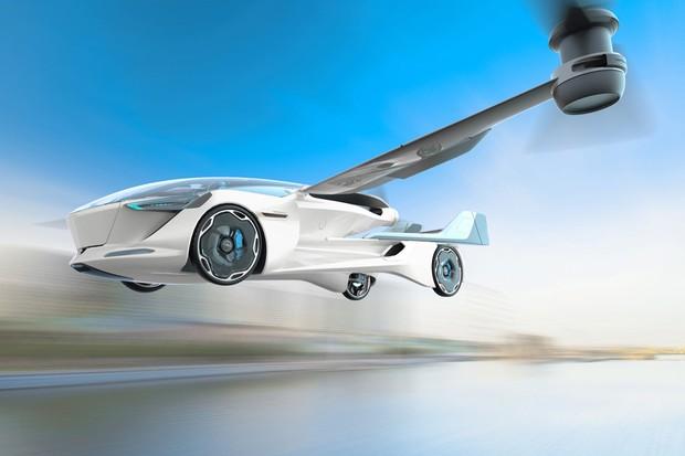 Carro voador capaz de decolar e pousar como helicóptero é registrado no Brasil